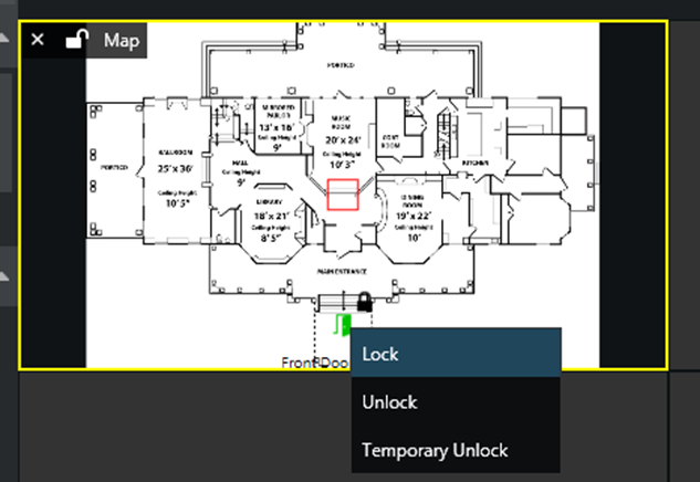 ac map live choose - Integrating with Access Control